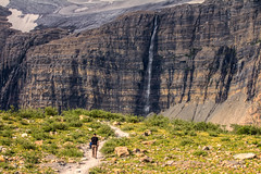 Trail Time (West Leigh) Tags: mountains nature water beauty landscape climb waterfall montana peace walk dream peaceful glacier wanderlust explore trail experience naturalbeauty nationalparks wander ascent discover grinnell manyglacier canoneos7d