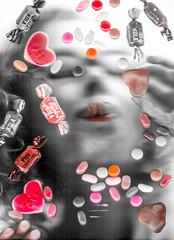 Want (Annieverse) Tags: portrait selfportrait self candy autoportrait desire scanography selfie