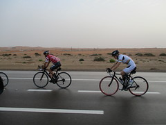 Early morning group ride to Nahel, UAE - Al Ain Monster Ride - 18 March 2016 (Patrissimo2017) Tags: road bike bicycle cycling ride group