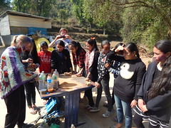 Sarina organized a Didi event to coincide with Holi (rukmini_foundation) Tags: nepal colors celebration holi didi mentoring