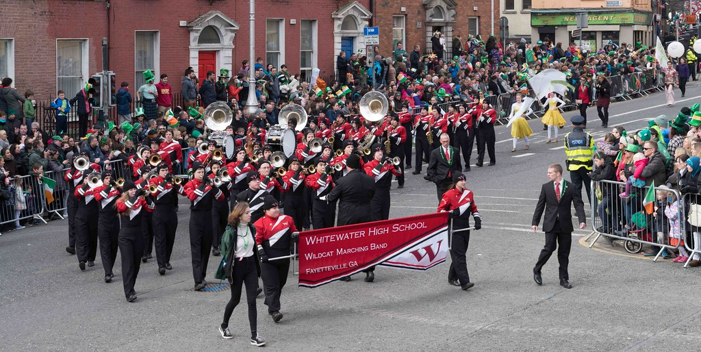 WHITEWATER HIGH SCHOOL WILDCAT MARCHING BAND [PATRICK'S DAY 2016]-112483
