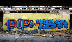 abandoned factory breukelen (wojofoto) Tags: holland graffiti tyson nederland pop netherland pops evolve breukelen wolfgangjosten wojofoto