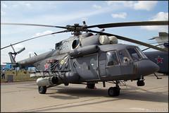 Mil Mi-8AMTSh (Pavel Vanka) Tags: plane airplane russia moscow spot airshow helicopter planes rocket hip spotting mil rotor gunship maks mi8 lii mi17 ramenskoe mi171 zhukovskiy russianairforce mi171sh mi8amtsh