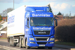 MAN Bannister International MT63 DAA (SR Photos Torksey) Tags: road man truck transport international lorry commercial vehicle freight bannister logistics haulage hgv lgv