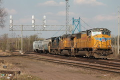 UP 4106 (CC 8039) Tags: up clinton trains iowa csx sd70m ac44cw c408