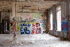 Indoors (pburka) Tags: nyc streetart building abandoned graffiti tags statenisland farmcolony sifc nycfc untappedcities