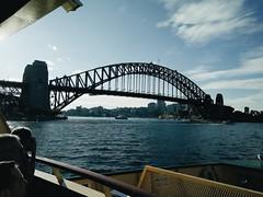 Sydney Harbour Bridge.  #Sydney #SydneyHarbourBridge #Australia (najjmusic) Tags: sydney australia sydneyharbourbridge