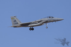 McDonnell Douglas F-15C 83-0036 (Newdawn images) Tags: plane airplane aircraft aviation military nevada jet aeroplane jetfighter usairforce redflag mcdonnelldouglas militaryjet f15c nellisairforcebase canonef100400mmf4556lisusm canoneos6d 159thfighterwing 122ndfightersquadron 122ndfs 830036 mcdonnelldouglasf15c830036