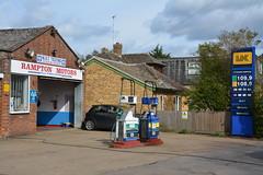 UK, Rampton Cambridgeshire. (EYBusman) Tags: uk station garage gas service petrol gasoline cambridgeshire filling petroleum proteus rampion certas