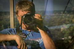 Hi there! (pesom) Tags: camera me self canon outdoor sigma cablecar rhine rhein selbstportrait kamera rdesheim seilbahn selfie niederwalddenkmal eos60d
