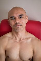 IMG_1454 (Zefrog) Tags: uk portrait man london pecs asian topless johann zefrog