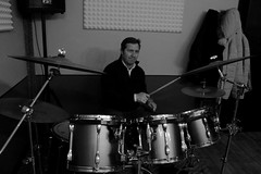 IMG_5273 (PsychopathPh) Tags: la sala musica toscana anima prato nell cantante musicisti prove chitarrista bassista batterista inaudito