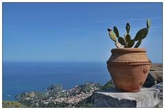 Taormina ... (junepurkiss) Tags: italy sicily taormina castelmola