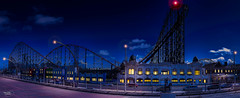 The Big One ((Thanks for over 2 Million Views)) Tags: sky panorama architecture clouds lights northwest panoramic lancashire rollercoaster 1855mm bigone blackpool hdr kevinwalker canon1100d