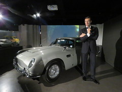 (imranbecks) Tags: uk motion london museum james martin sean bond aston 007 connery goldeneye goldfinger db5 2016