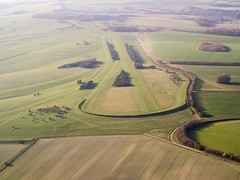Wiltshire Countryside (Matt Gayton) Tags: sunset england horse green field downs evening spring flight aerial farmland fields common wiltshire microlight pewsey clench gallops
