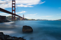 Therapy (ishootnraw1) Tags: sanfrancisco longexposure water bridges goldengatebridge