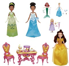 More Hasbro Princess Stuff! (Christo3furr) Tags: ariel fashion dolls princess disney frog belle beast cinderella tiana mermaid rapunzel hasbro tangled