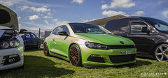 Viper Green VW Scirocco (karlbadkin) Tags: show bus car vintage golf beetle german bmw beatle modified jetta van audi polo herbie rocco vag scirocco herby