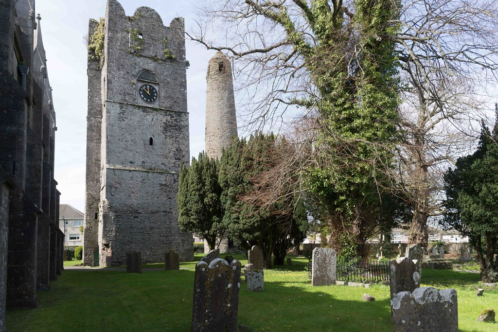 St. Columba's Church And Grounds In Swords County Dublin [Church Road]-115223