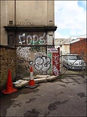 Fops, Sure, Cos... (Alex Ellison) Tags: urban graffiti boobs graff ac gs southlondon cos cosa dds allcity gullyside
