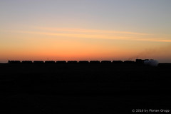 I_B_IMG_6449 (florian_grupp) Tags: china railroad sunset silhouette train landscape asia mine desert muslim railway steam xinjiang mikado locomotive coal js steamlocomotive 282 opencastmine sandaoling