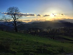 The Sun Going Down Over Ambleside (Marc Sayce) Tags: park lake green countryside district national cumbria pike ambleside wansfell