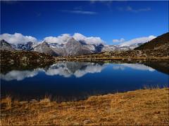 Der  Klaussee in 2.162 m  Hhe  im  Ahrntal / Sdtirol (Ostseetroll) Tags: italien lake mountains reflections geotagged see berge ita ahrntal spiegelungen klaussee sdtirolaltoadige geo:lat=4696441848 geo:lon=1199373560