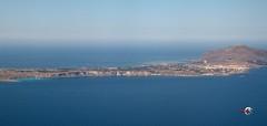 Flying: Trapani - Favignana island - Italy (claudios53) Tags: italy island aerialview sicily aereo paesaggio trapani favignana aerea vistaaerea volare