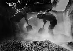 Stone Mining Labor (Murad Fotografia) Tags: light people blackandwhite monochrome contrast labor smoke photojournalism documentary dailylife hardwork survival bangladesh survivor reportage straggle stonemining hasanmurad
