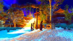 208 (Beth Amphetamines) Tags: winter sleeping wallpaper white snow cute beautiful bench outfit screenshot mod scenery kat dragon time beth vampire champion headquarters sd armor napping brunette hq shelley invasion resistance chiss traveler mora follower shadowwalker atthe serana khajiit meinthegame oghma skyrim mrissi mycustomfollower