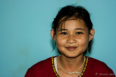 Portrait of a Karen Tween 6056 (Ursula in Aus) Tags: thailand thep maehongson