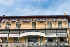 20160420 Provence, France 02489 (R H Kamen) Tags: france architecture facade bank frieze cassis bouchesdurhne provencealpescotedazur buildingexterior provencealpesctedazur rhkamen