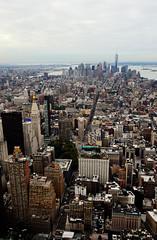 X (zniper111) Tags: ny newyork cross manhattan midtown empirestatebuilding flatiron freedomtower