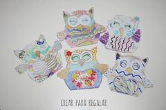 Marcapginas con bhos de papel (Mnica Santana) Tags: manualidades manualidadesparanios manualidadesconpapel