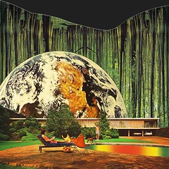 Earth house (Mariano Peccinetti Collage Art) Tags: flowers house art collage architecture kids vintage 60s arte earth surrealism dream surreal retro lsd 70s surrealist meditation trippy psychedelic psych cutandpaste dmt globular vintageart collageartist peccinetti collagealinfinito marianopeccinetti collageartcollagecollectiveco
