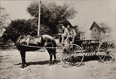 Roehm's Fair Grocery Delivery Wagon, Cook Street