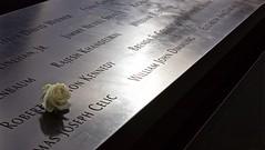 World Trade Centre Memorial (J-A-R-S) Tags: nyc travel usa holiday newyork rose memorial remember worldtradecenter memories manhatten groundzero
