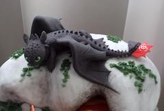 Toothless (Elaine Russo - Delizie! Arte com Acar) Tags: cake dragon toothless drago