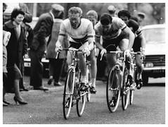 Alan Ramsbottom. (Paris-Roubaix) Tags: white black france bicycle alan vintage de cycling tour racing photographs 1961 pelforth sauvage ramsbottom lejeune parisvreux