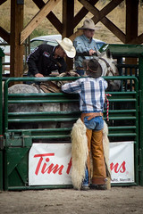 Fuzzy Chaps (LC27LadyB) Tags: horse cowboy rodeo chaps bronc