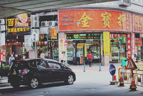 #澳門 的街道很小,車子也小,#車 多但也不堵 #life of #macau