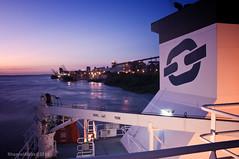 Bow Atlantic @ San Lorenzo, Argentina (Rhannel Alaba) Tags: sunset argentina sunrise nikon san ship terminal campana lorenzo d90 pido alaba odfjell rhannel