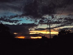 Andresito... (josemqui) Tags: travel blue sunset sun green nature argentina look view cloudy good postal feelings discover misiones andresito