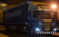 WS Transportation 6X232 PE64 URA at Junction 41 Wakefield 22/12/15 (CraigPatrick24) Tags: road truck cab transport lorry delivery vehicle wakefield trailer v8 scania logistics ws stobart curtainsider scaniav8 scaniar520 junction41 wstransportation pe64ura 6x232 wscurtainsider