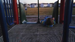 Waiting for me to climb up the slide for a race. (Eric Dockter) Tags: g4 lg instagram ifttt