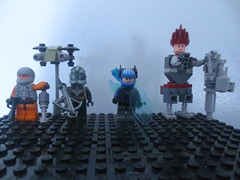 Futuristic Squad Contest Entry (AlienHunter143) Tags: lego action contest fi squad futuristic sci alienhunter143