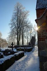 Biestow #6 (victorlaszlo73) Tags: winter sunny sonnig dorfkirche mecklenburgvorpommern biestow