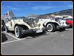 Excalibur  - Duo (v8dub) Tags: auto old classic car schweiz switzerland automobile suisse automotive voiture american oldtimer oldcar rare collector excalibur vevey scarce wagen pkw klassik worldcars