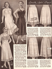 Spring and Summer 1955 Lane Bryant (vintagestitches) Tags: ladies 1955 fashion vintage ruffles lace lingerie ombre cotton 1950s crepe slip catalog taffeta rayon embroidered nylon petticoat mailorder eyelet elastic pleats acetate bias lanebryant plussize flounce halfslip biascut nyron plisse broadcloth chantillylace